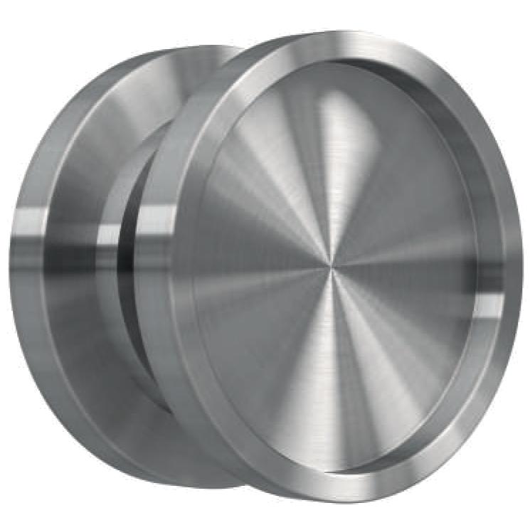 Griffmuschel Mg11 Aluminium Edelstahloptik Onpira